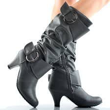 black high heel boots for little girls photo gallery