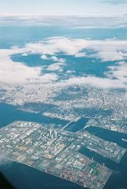 Kansai Airport Sinking 2015 by Japanese Island Genesis Methodology From Reclamation To Urban