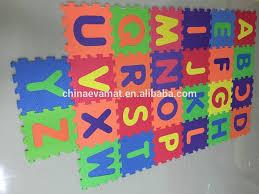 Foam Alphabet Puzzle Mat Educational Play Mat Buy Alphabet