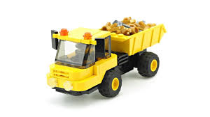 100 Lego Dump Truck LEGO Articulated MOC Building Instructions YouTube