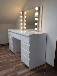 Dresser Couplings Style 38 by Trend White High Gloss Dressing Table Oberharz