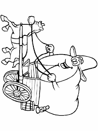 Printable Western 3 Coloring Pages