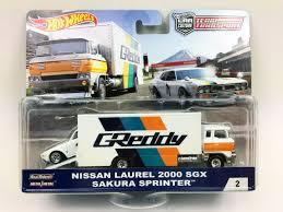 100 Hot Wheels Truck HOT WHEELS TEAM TRANSPORT GREDDY NISSAN SAKURA SPRINTER Boss
