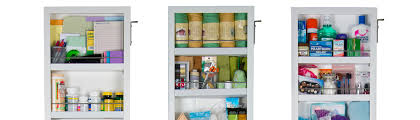 Cabidor Classic Storage Cabinet With Mirror by Cabidor Deluxe Mirrored Behind The Door Storage Cabinet