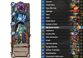 how will standard impact the strongest deck for each class mana
