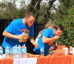 Giant Pumpkin Festival Elk Grove by Joey Chestnut Wins Pumpkin Pie Eating Championship Lifestyle
