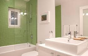 glass tile bathroom designs photo of green walls small tub