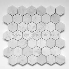 1 2 x 12 bianco white carrara marble pencil liner honed