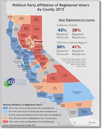 Map Of The Month Center For Economic Development Inside Political California