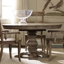 Sorella Round Dining Table With Pedestal Base And 20