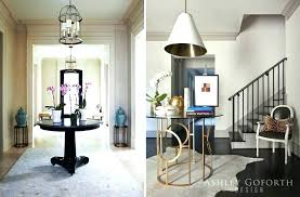 Round Entrance Tables Small Entryway Table Simple Dining On