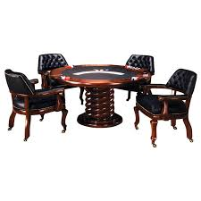 T8193 Poker Dining Table & C8339-4LC Caster Chairs – Tommy Bahama Home Island Estate 53198201 Bquick Shipb Samba Amazoncom Made In Usa Rattan Chiba Ding Caster Chair Table Octagon Shape Game And Four Chairs With Casters By Drexel Ebth Rollers Rolling Leather Sunny Designs Santa Fe 1412dcb With John V Rollers Rolling Game Chairs Leather Hillsdale Fniture Park View Medium Brown Oak And Cr87711 Gaming Gray Wood Nailheads Upholstered Wheels Coaster Mitchelloak 5 Piece 3in1 Set Alkar Billiards Rustic W Cushion Seat Wolf Room Wooden