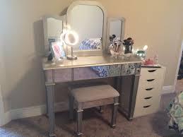 bedroom alluring pier 1 hayworth mirrored vanity ikea alex