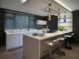 spots cuisine 73 idées de cuisine moderne avec îlot bar ou table à manger