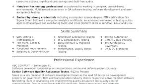Sample Resume For Software Tester 5 Years Experience Info Testing Samples Junior Engi 4