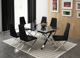 Black Furniture Room Chrome And Oak Dining Futuristic ... Capri 7piece Ding Set Room Sideboards Edmton Canada Mobler Fniture Black Chrome And Oak Futuristic Gorgeous Luxury Purple Ding Room Chairs Chairs Etikaprojectscom Do It Yourself Project Elegant Modern Living Ikea 3432 With Regard 15 Amazing Contemporary Designs House Interior Island Home By Nigel Gee Ochsner Rustic Urban 8pc Table 6 Chair Sver Monday Inspiration Design
