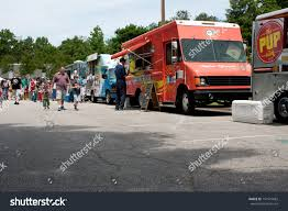100 Food Trucks Atlanta Ga May 25 Patrons Buy Stock Photo Edit Now 141579682
