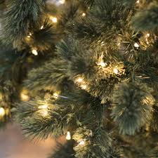 7 Ft Pre Lit Christmas Tree Hard Needle Deluxe Cashmere Pine 550 Clear Lights