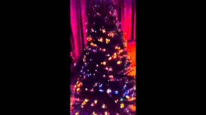 Artificial Christmas Tree Fiber Optic 6ft by Fiber Optic Christmas Tree Youtube