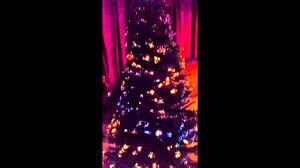 6ft Christmas Tree Fibre Optic by Fiber Optic Christmas Tree Youtube