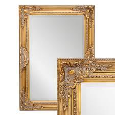 spiegel spiegel wandspiegel barock gold antik holz landhaus