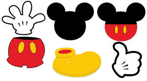 Mickey Mouse Halloween Stencil by Mickey Mouse Face Template Free Download Clip Art Free Clip