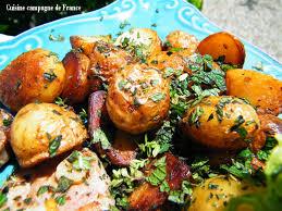 cuisiner des pommes de terre nouvelles cuisine et cagne de les pommes de terre nouvelles de l