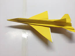 How To Make A Cool Paper Plane Origami F16