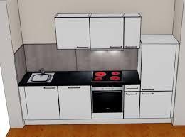 sofort verfügbar kleine günstige küche mit vollausstattung