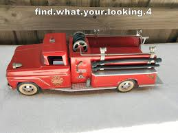 TONKA 1964 FIRE TRUCK + HYDRANT 100% ORIGINAL PATINA ONE OWNER NICE ... Tonka 1964 Fire Truck Hydrant 100 Original Patina One Owner Nice Vintage 1955 Tonka No 950 6 Suburban Pumper Fire Truck With Fire Truck On Shoppinder Metal Firetruck Vintage Articulated Toy Superior Auction 5 Water 1908254263 Suburban 1963 Paint Real Dept Hose Ladder Tfd A Sliding Ladder Vintage Toys Hydrant Wwwtopsimagescom Toys 1972 Aerial Photo Charlie R Claywell
