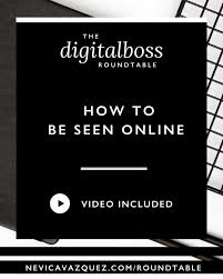 How To Be Seen Online [Roundtable Series With Dannie ... 50 Amazing Social Media Marketing Ideas Strategies Tips Round Table Coupons Code Nik Coupon Code 25 Isckphoto 2018 Barkbox Subscription Boxes Box Half Poly Linda West Jct600 Finance Deals Amazoncom Tablecloth Coupon With Qr Top How To Be Seen Online Roundtable Series With Dannie Fniture Exciting Napa Design For Your