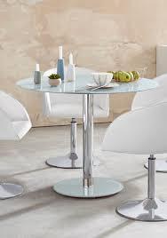 mca furniture glastisch falko mit glasplatte