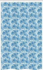 abakuhaus duschvorhang badezimmer deko set aus stoff mit haken breite 120 cm höhe 180 cm shells krustentiere druck kaufen otto