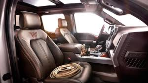 2015 Ford F 150 King Ranch Interior and Seats