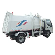 China 3T Compression Rear Loading Garbage Truck - China 3t Truck ...