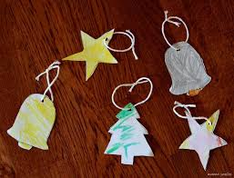 Colored Christmas Tree Ornaments