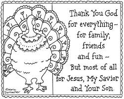 Christian Coloring Pages Thanksgiving Kids