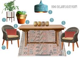 Outdoor Dining Style: Modern Boho — Catherine Arensberg Landscape ... Rustic Vintage Charcoal Grey Extending Ding Table 6 Chairs 100 Best Farmhouse Ding Room Decor Ideas Bassett Mirror Company Boho Medium Brown Paxton Set Retro Table And Chairs Rhmekiinfo Colctibles Antique Rhtoolus Reveal Black Blooms Boutique Round No18 Interiors A One Challenge Week Exciting Eclectic Rooms Style That Can Fit In Any Home Online Interior Design Moodboard Bohemian Etsy Modern Casual With Fniture Living Addinslamp Chic Youll Love Overstockcom