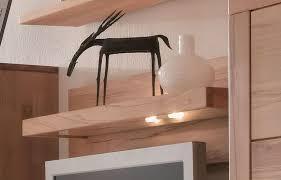 massivholz wohnwand set kernbuche massiv geölt 6tlg casera wohnzimmer möbel