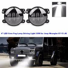 2 PCS 4 Inch Led Fog Lights For Jeep Wrangler JK TJ LJ Tractor Boat ... 52018 F150 Morimoto Xb Led Replacement Projector Fog Lights 50373 Amazoncom Spyder Auto Flledcsil03c Chevy Silveradoavalanche High Oput White Front Bumper Grille For Vw Bora 9802 Angel Honda Access Light Kit 2017 Civic Typer Fk8 Jhpusa 02013 Toyota Tundra Rigid Industries Mounting 40155 Xkglow 4in Ultra Bright Wide Angle Fog Lightswitch Back Dual Dot 9inch Led Bar Driving Offroad Lamps Backup Dodge Ram From Hid Digitru Universal Bike Headlight Taillight With 2003 2004 Corolla Euro Clear