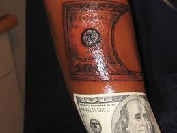 35 Arresting Money Tattoos