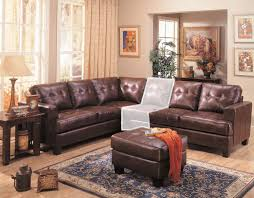 Boscovs Leather Sofas by Samuel 3 Piece Brown Leather Sectional Sofa From Coaster 500911