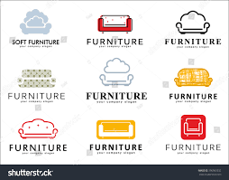 Logos For Furniture Store Sofa Icons