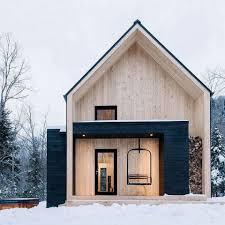 100 Minimalist Cabins Cabin Mortgage Loans House Design Modern Barn