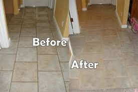 grout sealing before after images seal systems