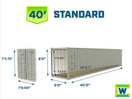 104 40 Foot Containers For Sale Shipping Container Dimensions Internal External Container Dimensions