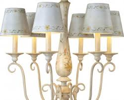 Antique French Country Mini Chandelier W