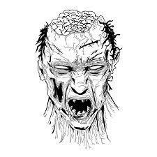 Dibujos De Zombies Para Colorear E Imprimir Djdarevecom