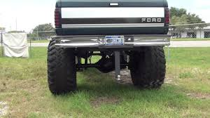 HUGE LIFTED UP 4X4 FORD TRUCK WITH LIFT KIT AND BIG TIRES IT IS FOR ...