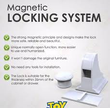 Magnetic Locks For Glass Cabinets by Magnetic Cabinet Locks All4baby Magnetic Baby Proofing Cabinet